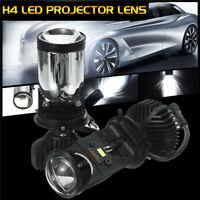 2PCS 90W LHD/RHD H4 Bi-LED Hi/Lo Mini Projector  Lens Retrofit   Q