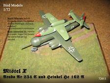 Mistel X - Ar 234 C und He 162 A-2  1/72 Bird Models ResinUMbausatz / conversion