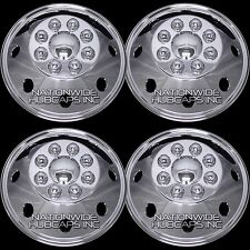 "4 Chrome 15-17 RAM PROMASTER CITY Cargo Van 16"" Wheel Covers Full Rim Hub Caps"
