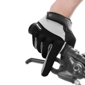 Outdoor Men's Full Finger Cycling Gloves Road Mountain Bike Long Finger Guantes