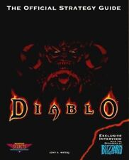 Diablo : The Official Strategy Guide by John K. Waters (1997, Paperback)