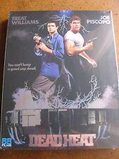 DEAD HEAT with SLIPCOVER: 1 of 300 (1988) (Locked REGION B Blu-Ray) BRAND NEW!!!