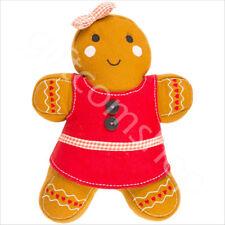 Natale Pan Di Zenzero Man Girl Vintage Cuscino Bambini Cuscino Regalo di Natale