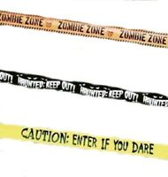 CAUTION TAPE ASST 15M - Halloween decoration party fun zombie scary light up