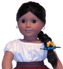 Josefina American Girl Doll! Pleasant Company! Original Braid~Ribbon~ Flower!