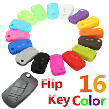 3 Buttons Silicone Flip Key Cover Case Shell Holder Remote Fit For FORD KA