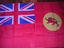 British Empire Flag Red Civil Ensign of British North Borneo Malaya 3X5ft GB UK