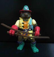 """Playmates TMNT TEENAGE MUTANT NINJA TURTLES Raphael action figure OLD 5"""" #SC3"""
