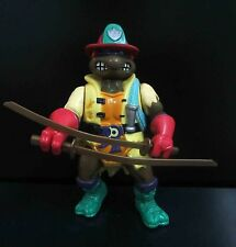 "Playmates TMNT TEENAGE MUTANT NINJA TURTLES Raphael action figure OLD 5"" #SC3"