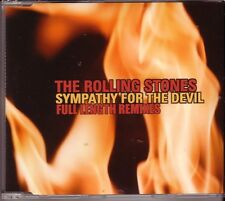 "ROLLING STONES ""Sympathy for the Devil Full Length Remixes"" 3Track PROMO CD RAR"