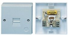 TELEPHONE SOCKET BT MASTER SURFACE MOUNT EASY FIT SCREW TERMINALS