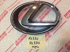 *NEW LEXUS RX330 RX350 CHROME GRILL GRILLE EMBLEM 2004 2005 2006 OEM 2007 2009