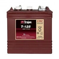 6 Volt Trojan T125 Deep Cycle Battery