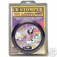 AVERY CD STOMPER PRO LABELING KIT with LABELS BRAND NEW LABEL APPLICATOR