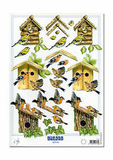 3d Motif Bow stages Bow Craft Bow 3d Picture Bird Birds Bird House (095)