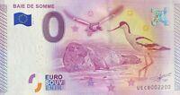 BILLET 0  EURO BAIE DE SOMME  FRANCE 2015 NUMERO 2200