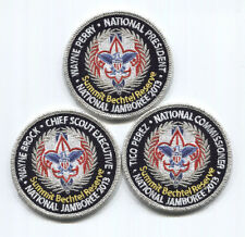 2013 National Boy Scout Jamboree KEY 3 SET - CSE Ntl President & Commissioner