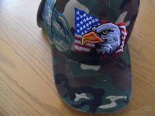 CAMOUFLAGE DARK GREEN MULTI etc  BANDANA BASEBALL CAP  USA FLAG