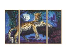 Afrika-jäger In der Nacht SCHIPPER Triptychon Malen nach Zahlen