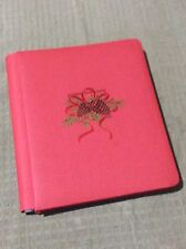 Creative Memories 8x10 Album Red Holiday Christmas Scrapbook 1997 Ltd Edition