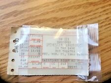 *Omd* Orchestral Manoeuvres In The Dark Ticket Stub 99 Dix Nov. 21, 1986