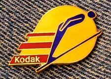 Ski Jump Pin ~ 1984 Sarajevo Winter Olympic ~ Sponsor ~ Kodak