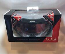 Bolle Duchess Goggles BLACK & Plum Nordic,  Vermillion Gun Lens, New