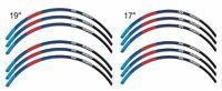 """ADESIVI 3D PER CERCHI 17"""" E 19"""" COMPATIBILI CON BMW R 1200 GS 2013 - 2016"""