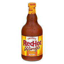 Franks RedHot Wings Sauce Buffalo 23.0 FL Ounce Free Shipping New