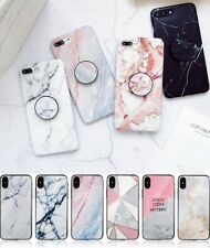 Shockproof Marble TPU Back Gel Case Cover For Apple iPhone X XS XR 7 8 Plus