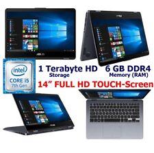 "ASUS VivoBook Flip 14"" FULL HD TouchScreen 2-in-1 Laptop; Windows 10 with PEN"