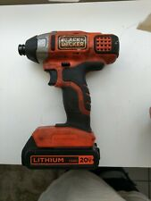 Black decker drill with battery tested