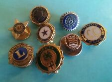 Vintage American Legion  and Others  Clubs  8  Pin Lot  ((C49))