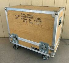 BB King OWNED 1980's Tour Used Fender Twin Amp Road Case JULIENS Estate