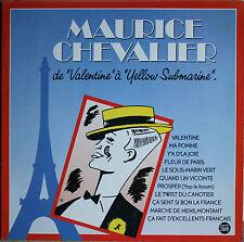 """MAURICE CHEVALIER DE """"VALENTINE à YELLOW SUBMARINE""""  33T 2LP"""