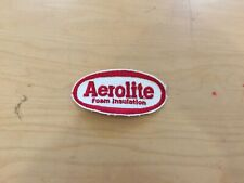 vintage work patch, 1960's, new old stock, aerolite foam insulation patch