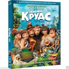 The Croods (Blu-ray 3D+2D) En,Russian,Estonian,Lithuanian,Latvian,French,Spanish