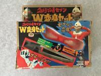 Ultraman & Seven Makeover Set Ultra Eye Beta Capsules Bandai Used #784
