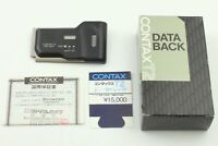 [MINT in BOX] Contax T2 Data Back CX-T2 Titanium Silver from JAPAN #112