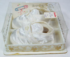 1970's Soft Baby Shoes Size 0 from Woolworth Woolco Store Baby Gift Collectible