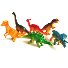 6pcs Large Assorted Dinosaurs Toy Plastic Figures Simulation Model Dinosaur UK-1