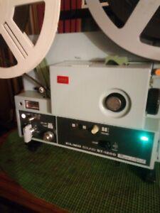 SUPER 8MM ELMO ST 1200 MAG/OPTICAL SOUND PROJECTOR.VGC.