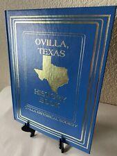 OVILLA, TEXAS History Book Dallas/Ellis County Genealogy 300+ Pages
