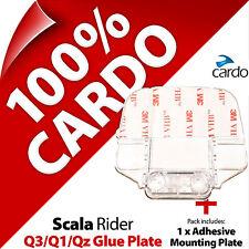 New Cardo Scala Rider Replacement Large Glue Plate for Q3 Q1 QZ Helmet Intercom