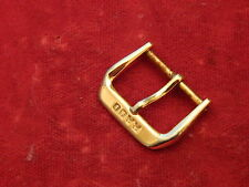 GENUINE RADO GOLD TONE 16MM / 21MM TANG BUCKLE FOR LEATHER STRAP BAND BRACELET