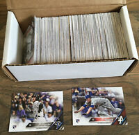 2016 Topps Update Baseball Complete 300 card set - Seager Story Anderson rookies
