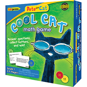 Teacher Created Resources 63531 Pete the Cat Cool Cat Math Game 1