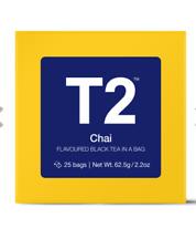 Chai Teabag Gift Cube Box of 6