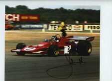 Jacky Ickx Ferrari 312 B3 British Grand Prix 1973 Signed Photograph 2