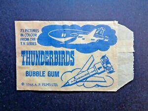 1966 SOMPORTEX/MONTY *THUNDERBIRDS* WRAPPER/ENVELOPE  HTF